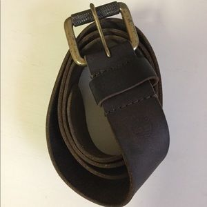 Timberland Accessories - Timberland Leather Mens Belt